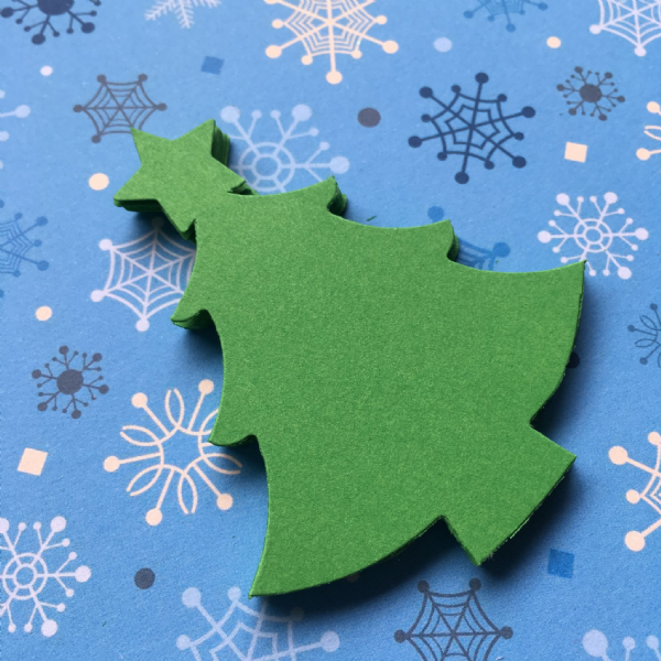 Stix-2 Die Cut Shapes Christmas Trees